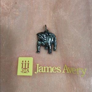 Sterling silver James Avery English Bulldog charm